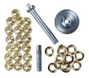 Coghlans grommet kit , 20 pieces