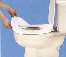 Coghlans toilet seat cover , 10 pieces