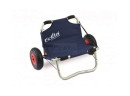 ECKLA-Canoe-Cart with seat, stainless steel axle. wheel...