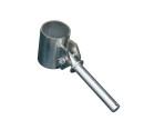 Ruderdolle Ø 44 mm, verzinkt, mit Zapfen Ø...