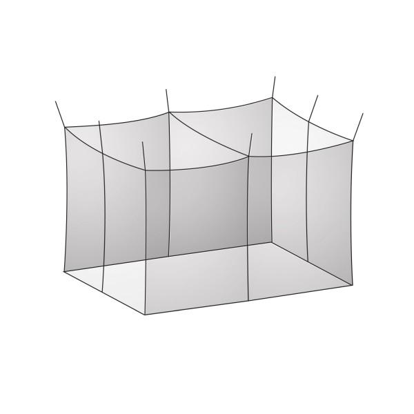 BasicNature Moskitonetz Klassik, Doppel, Mesh 850