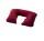 BasicNature Nackenkissen aufblasbar, bordeaux rot
