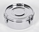Relags Food Container, stainless steel, round , medium
