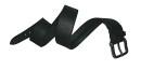Leathersafe Geldgürtel Shine, 100 cm, schwarz