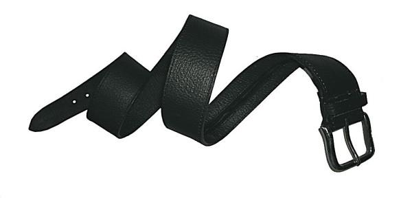 Leathersafe Geldgürtel Shine, 80 cm, schwarz