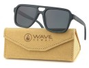 Sunglasses Flayr, Black Bamboo