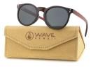 Sunglasses Spyn, Wood Grain PC + brown Wood