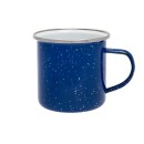 Origin Outdoors Emaille Tasse, 360 ml, blau