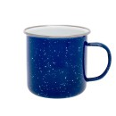 Origin Outdoors Emaille Tasse, 530 ml, blau