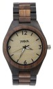 WAVE HAWAII Holz - Armbanduhr / Watch Men, ebony + walnut