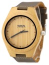 WAVE HAWAII Holz - Armbanduhr / Watch Men, carbonized bamboo
