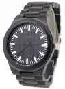 WAVE HAWAII Holz - Armbanduhr / Watch Men, ebony + steel
