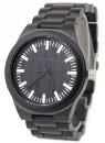 WAVE HAWAII Holz - Armbanduhr / Watch Men, ebony + steel