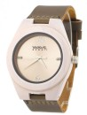 WAVE HAWAII Holz - Armbanduhr / Watch Men, white maple
