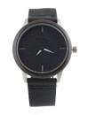WAVE HAWAII Holz - Armbanduhr / Watch Women, ebony + steel