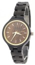 WAVE HAWAII Holz - Armbanduhr / Watch Women, ebony