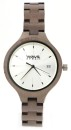 WAVE HAWAII Holz - Armbanduhr / Watch Women, grey maple