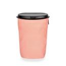 FLEXTRASH LARGE, mobiler Abfallsammler 9 Liter, Rosy Red