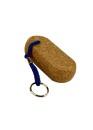 Schlüsselanhänger mit 1 Kork flach-oval