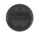 Inspektionsdeckel schwarz 108mm