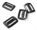 Gurtschnalle 25 mm Gurt Acetal schwarz (10-St.Pack)