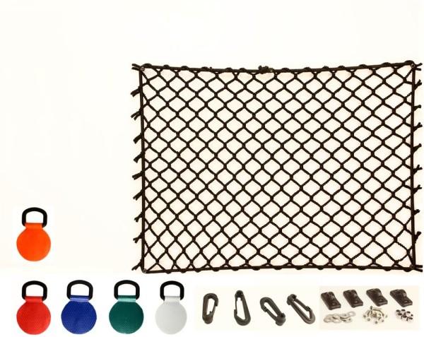 Decksnetz, Gepäcknetz für Kanu / Kajak, elastisch, Höhe 30 cm