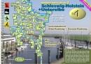 Wasserwander - TourenAtlas TA1, Schleswig - Holstein mit...