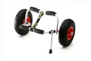 ECKLA-Cart for sea-kayak with support and Pneumatic wheel...