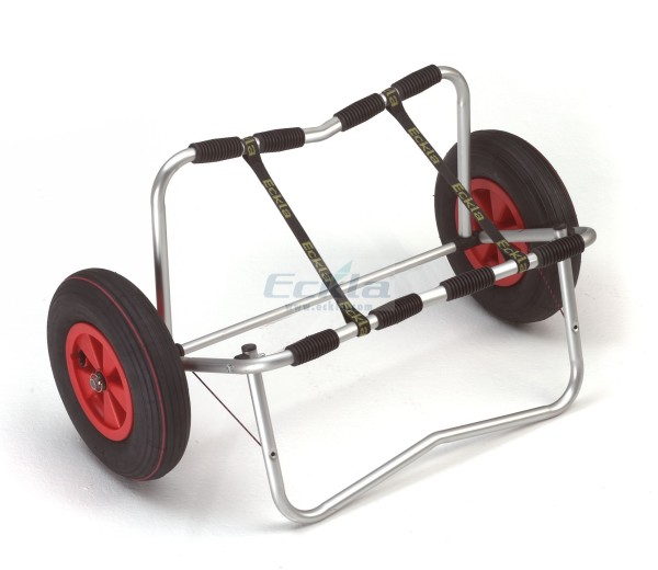 ECKLA-Cart for inflatable boats, alum. wheels 400mm