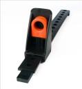 Heavy duty adjustable foot brace