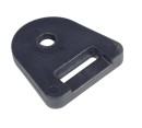 25mm webbing heavy duty buckle deck fitting