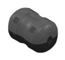 KS-Flex deck ball 26/36mm, retrofit ,1 pcs
