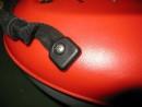 Tragegriff, Griff für Kajak / Kanu, Gurtband 25 mm flach gummiert, mit Fittings, 1 Paar