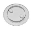Inspection Hatch Detach.Cover diam. 150 / 208 mm - White