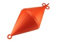 Mooring Buoy Bi-Conical, Plastic, Ext.Ø320mm, Orange