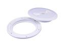 Inspektionsdeckel Durchmesser 145 mm weiß, robuste,...