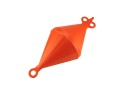 Mooring Buoy Bi-Conical, Plastic, Ext.Ø280mm, Orange