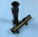 Rod Holder, Plastic, SideMount, Ø40mm H.225mm, Black