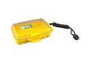 Unbreakable case, Sea Shell 132x100x40mm, waterproof, yellow