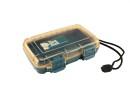 Unbreakable case, Sea Shell 182x120x42mm, waterproof, blue