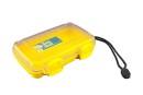 Unbreakable case, Sea Shell 182x120x42mm, waterproof, yellow
