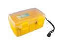 Unbreakable case, Sea Shell 182x120x75mm, waterproof, yellow