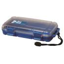 Unbreakable case, Sea Shell 224x130x46mm, waterproof, blue