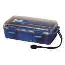 Unbreakable case, Sea Shell 224x130x70mm, waterproof, blue