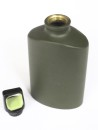 Alloy - Drinking Bottle 500 ML, Olive Green, Flachmann