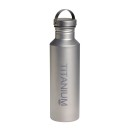 Vargo Titan Wasserflasche, 650 ml, mit Titan Deckel