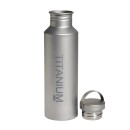 Vargo Titanium Water Bottle , with Titan Lid, 650 ml