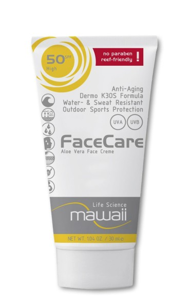 Mawaii FaceCare, 30 ml, SPF 50