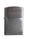 Benzinfeuerzeug Chrom, matt