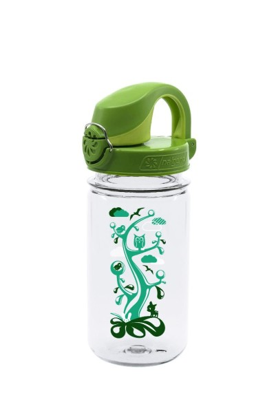 Nalgene Everyday OTF Kids bottle , 0,35 L, transparent tree